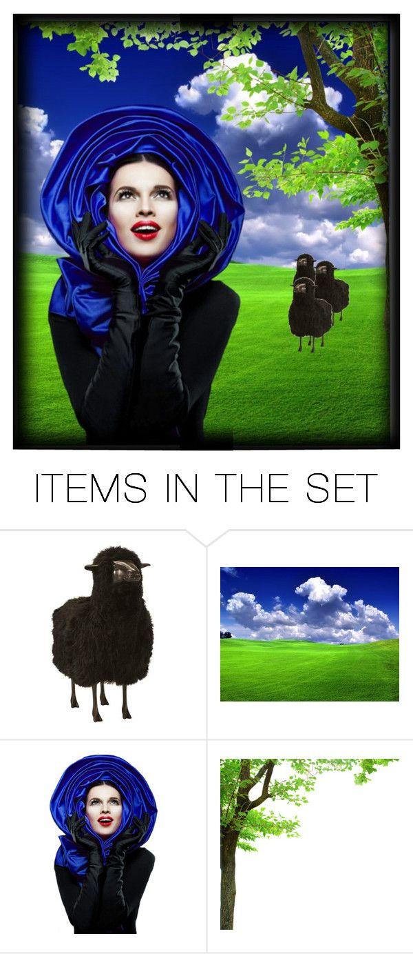 """""""Bringing their tails behind them...."""" by jothomas ❤ liked on Polyvore featuring art"""