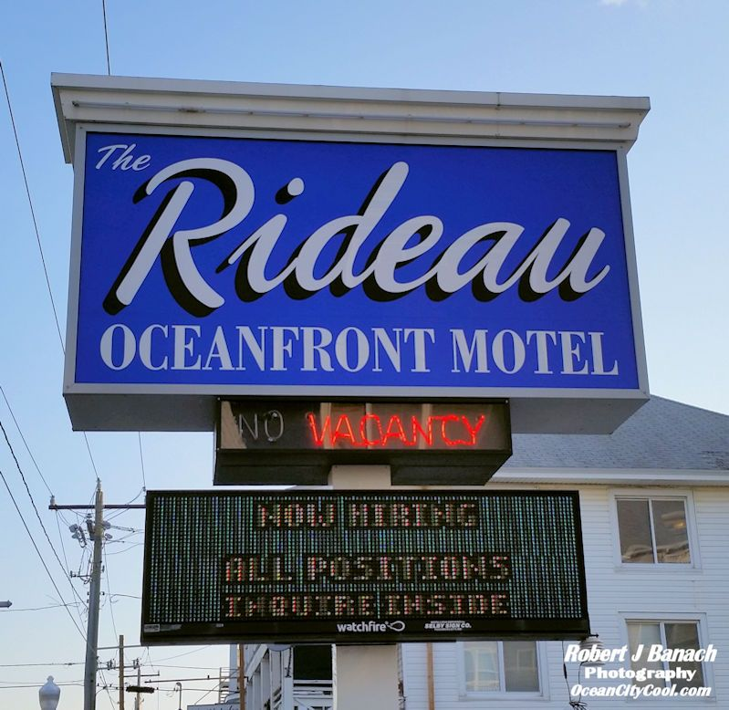 Rideau Oceanfront Motel Ocean City Md With Images Ocean City Md Ocean City Ocean City Hotels