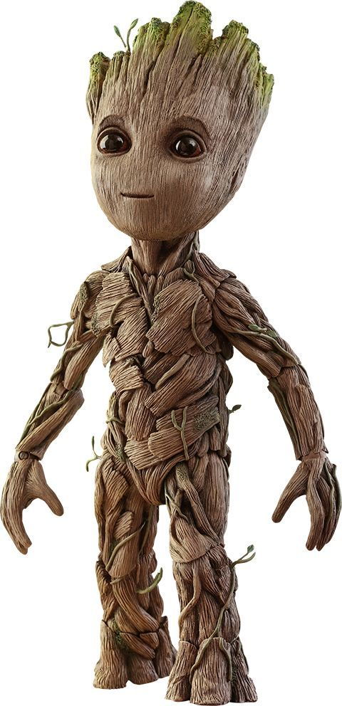 Marvel Comics Baby Groot Sixth Scale Action Figure By Hot