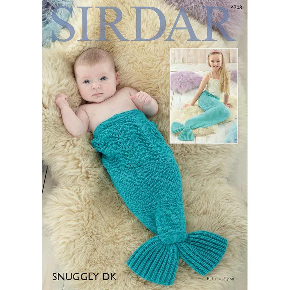 Digital Knitting & Crochet Patterns | Mermaid tail knitting pattern ...
