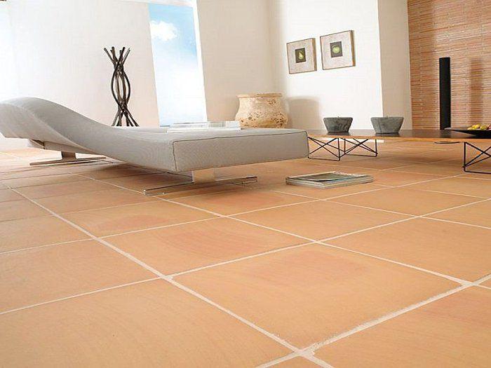 terracotta tiles living room for the home terracotta floor rh pinterest com
