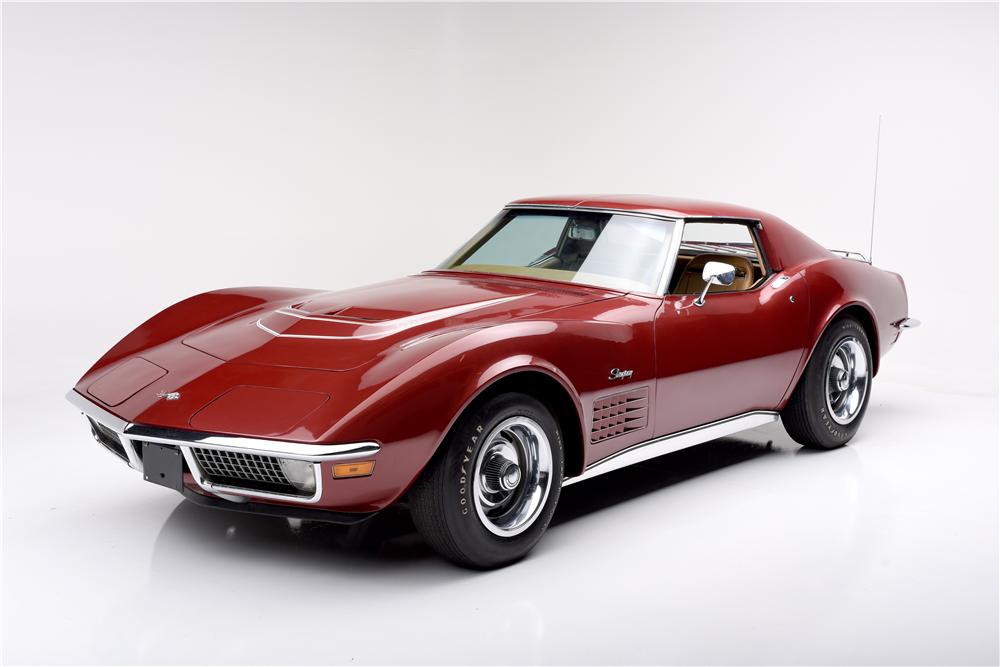 1970 Chevrolet Corvette 350 370 Barrett Jackson Auction Company Chevrolet Corvette Corvette Chevrolet
