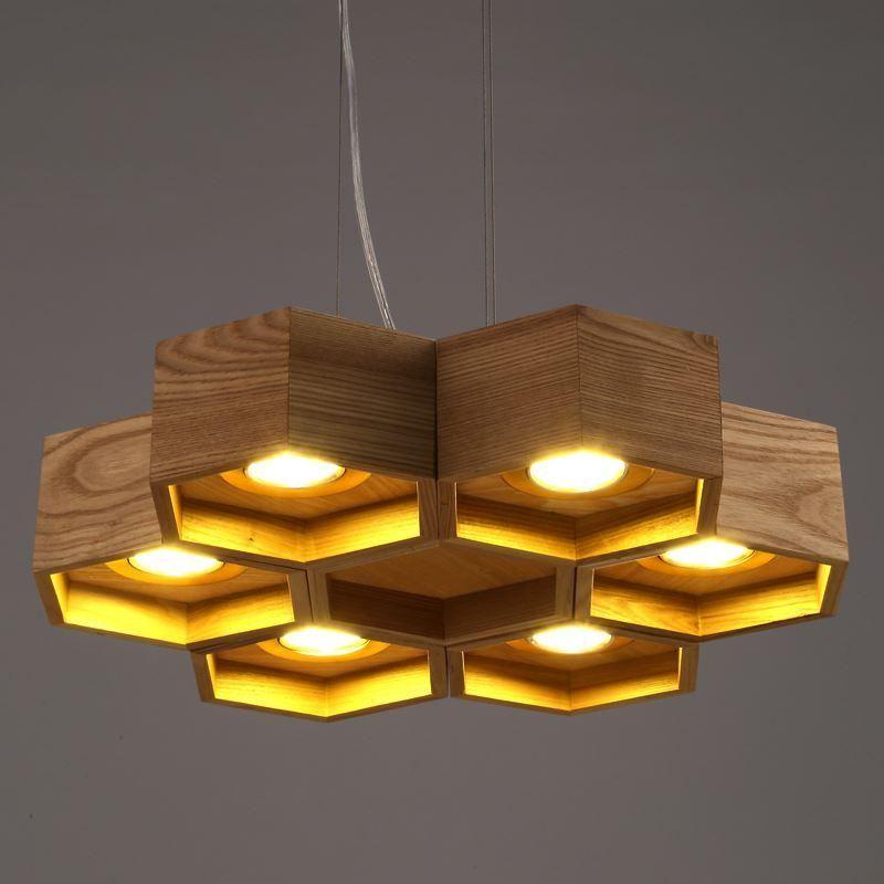 DHL 6 lighs 12 luces Luz pendiente alveolar diseño de la novedad de ...