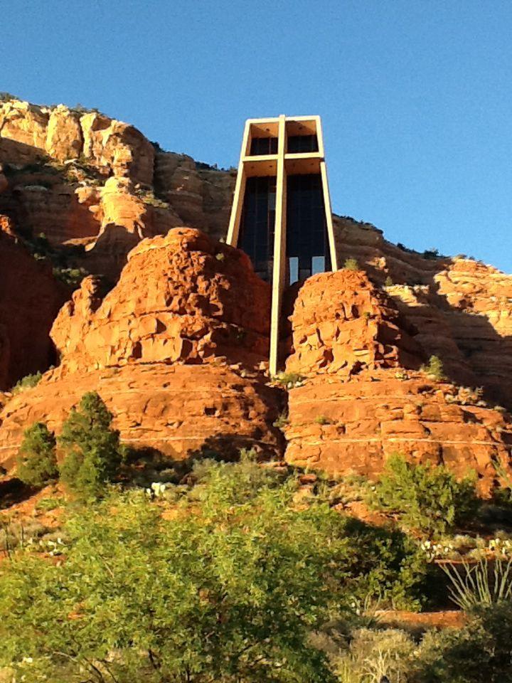 Church of the Holy Cross, Sedona, AZ Beautiful church in the red rocks
