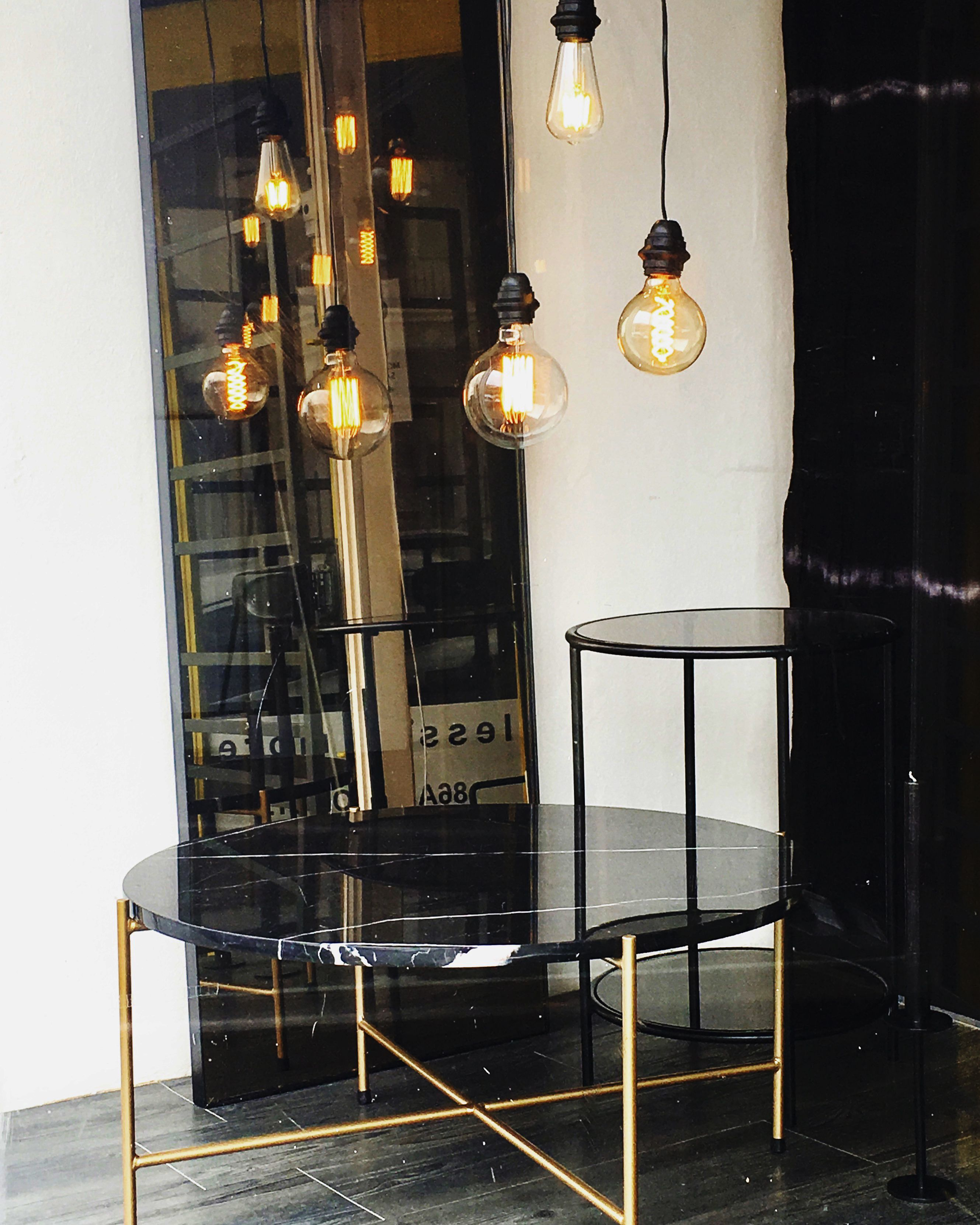 Black Marble Smokey Mirror Smokey Glass A Touch Of Gold Gold Interior Interior Interior Design