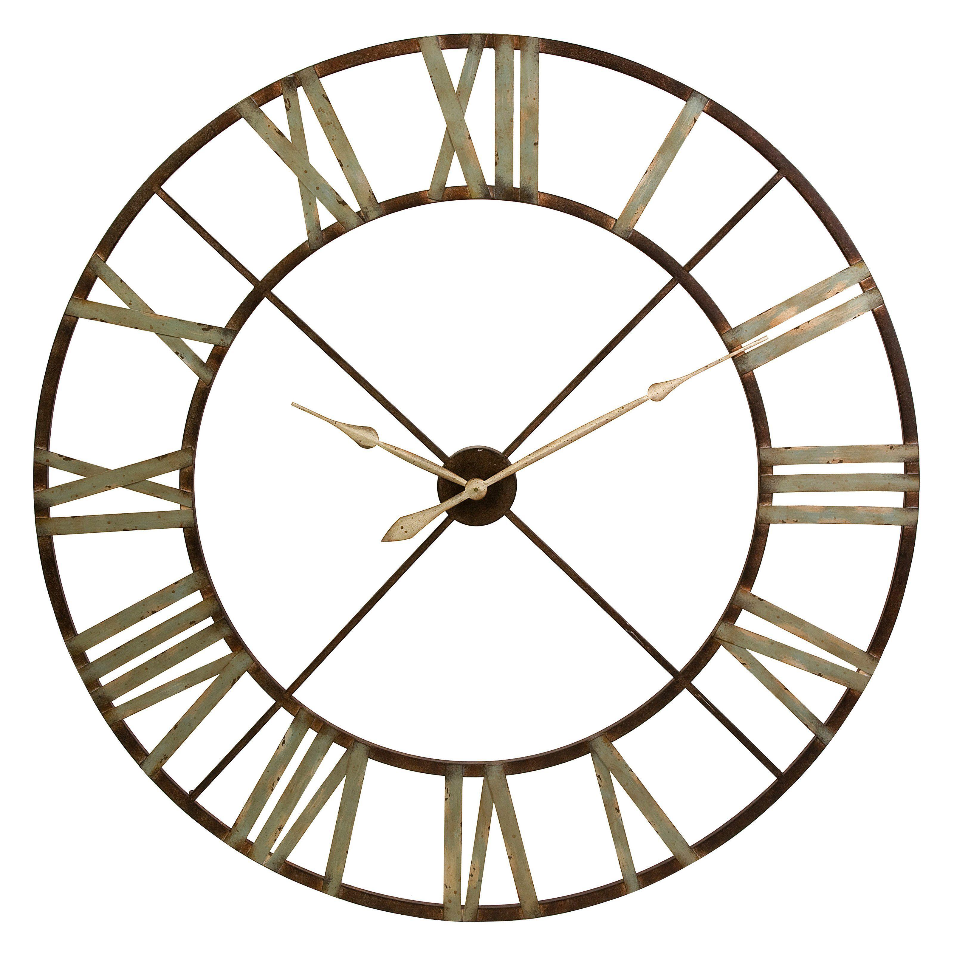 Imax Jasper Wall Clock Metal Wall Clock Wall Clock Oversized Wall Clock