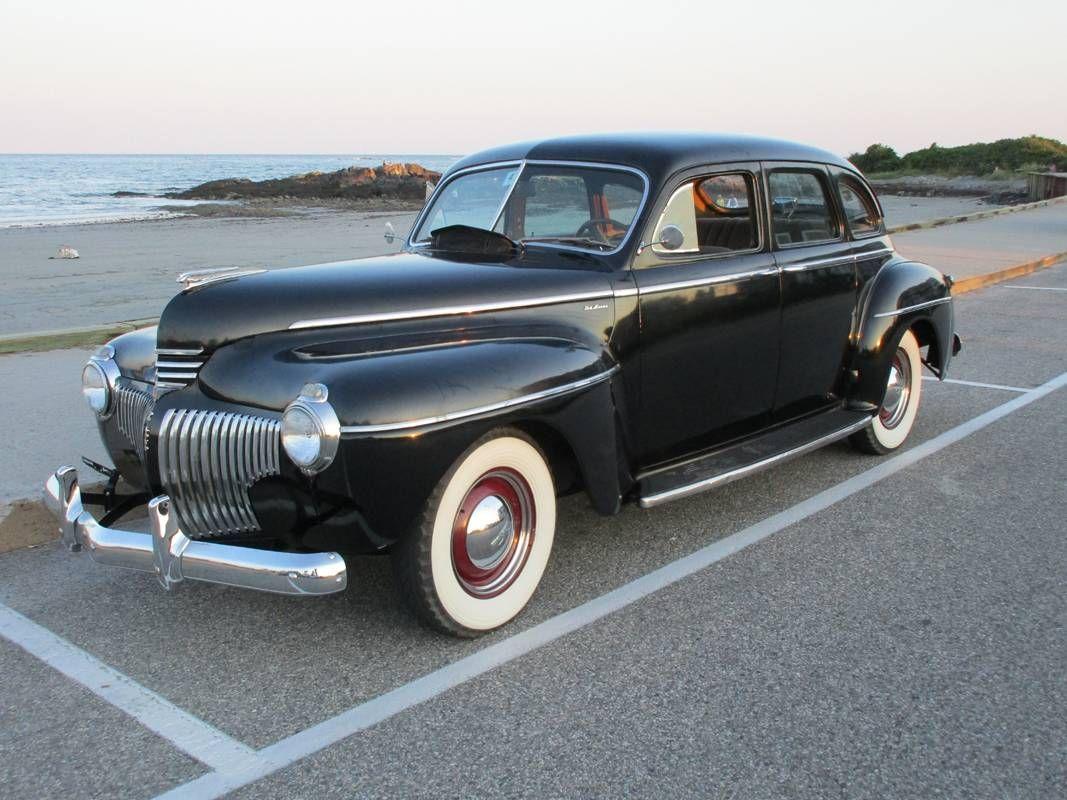 1941 desoto deluxe s8 sedan