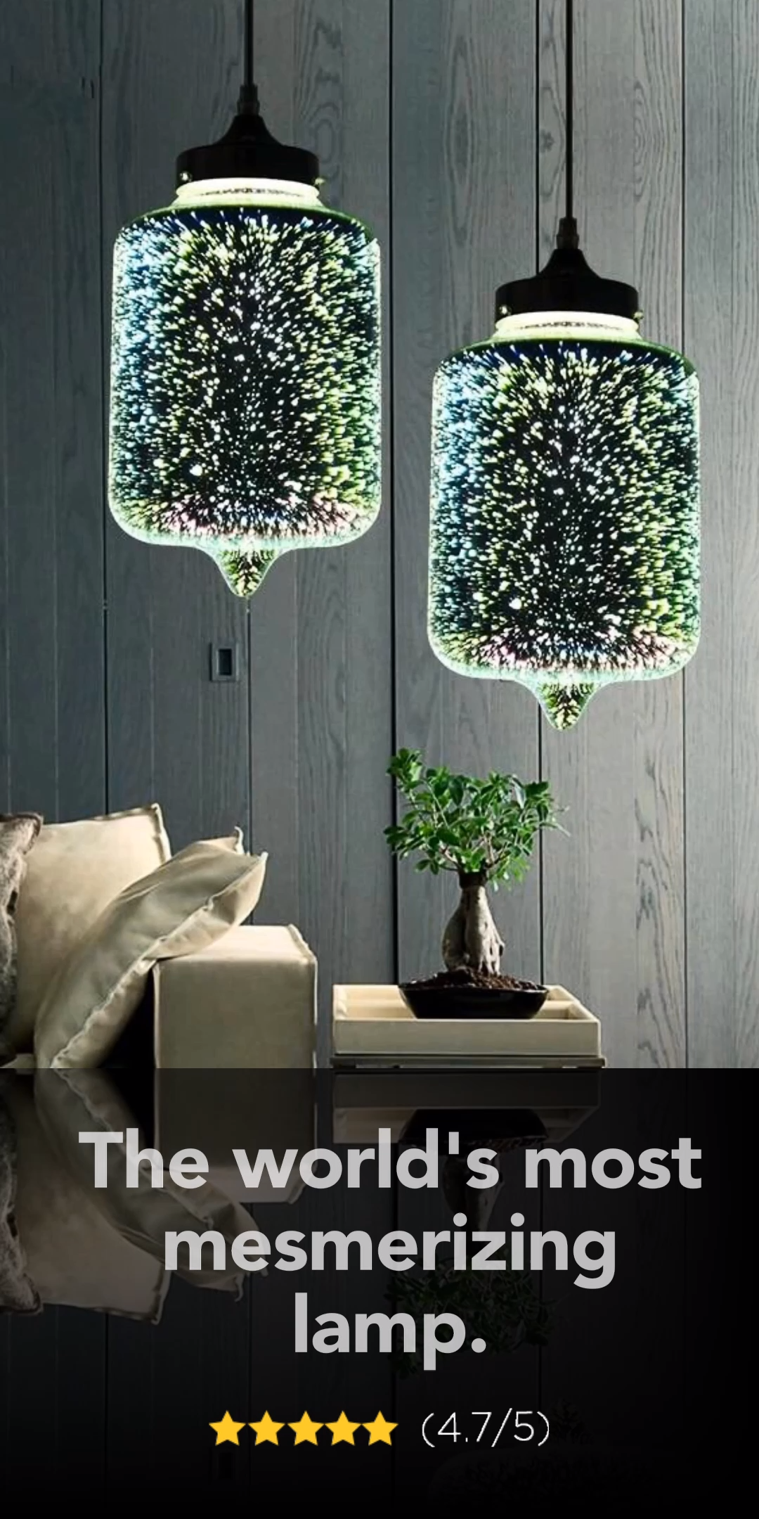 Rona The World S Most Mesmerizing Lamp Video In 2020 Cottage Lighting Home Decor Lights Home Decor Bedroom