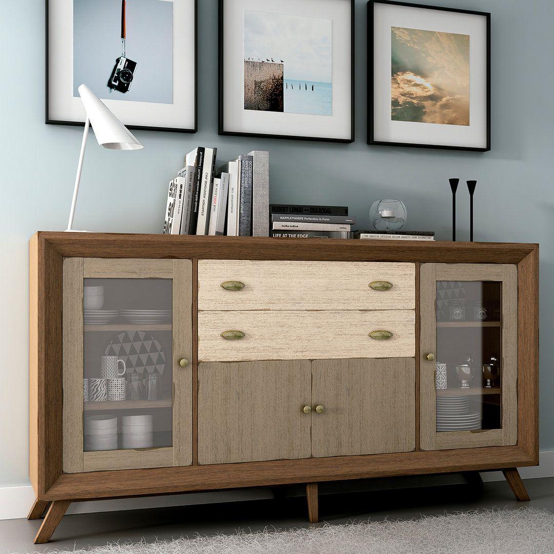 Aparador vintage villeret aparadores para el comedor pinterest aparador vintage y vintage - Samarkanda muebles ...