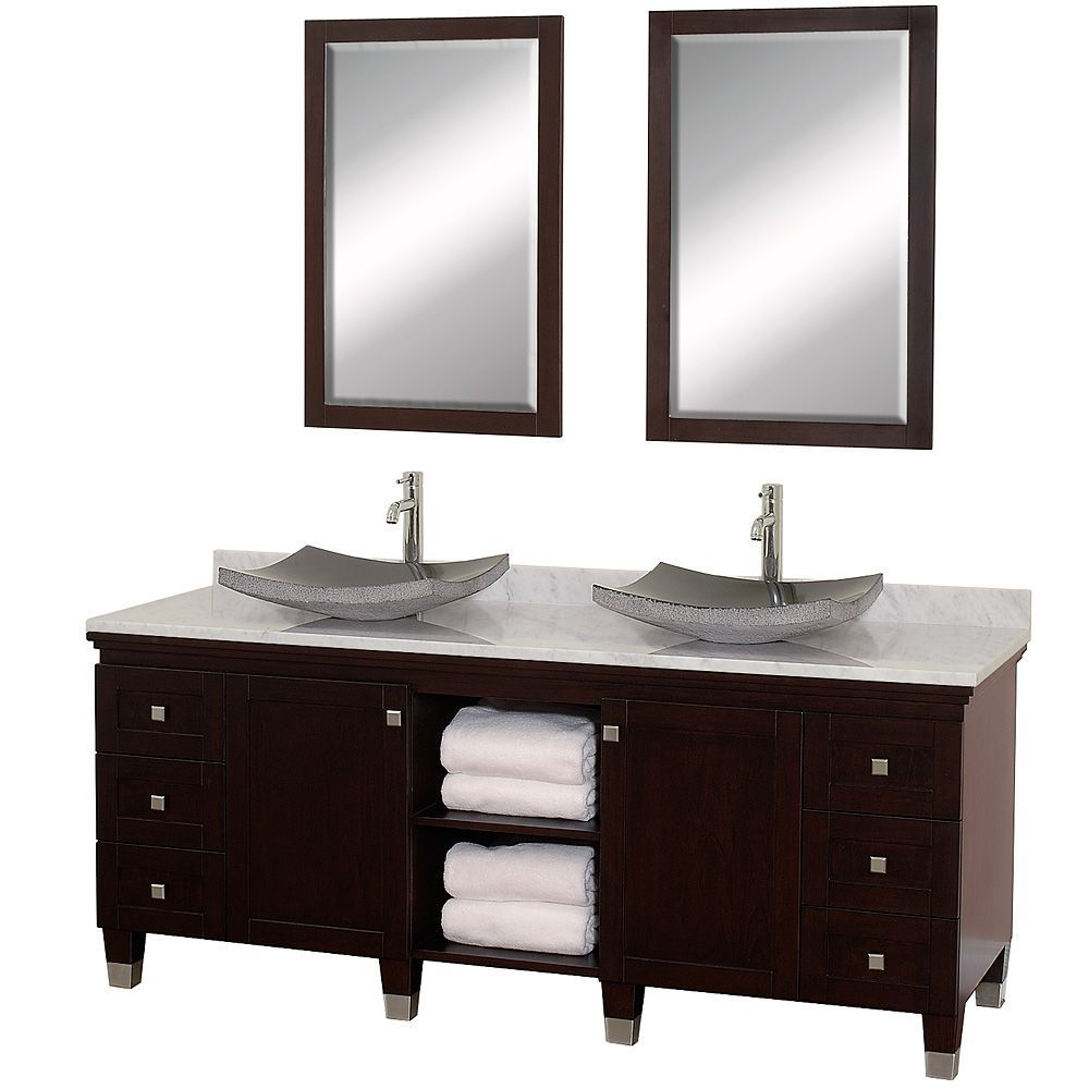 Photos Of Andover inch Traditional Bathroom Double Vanity Set White Finish