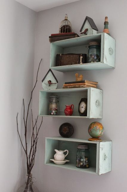 Namely Original Drawers Turned Shelves In 2019 Old