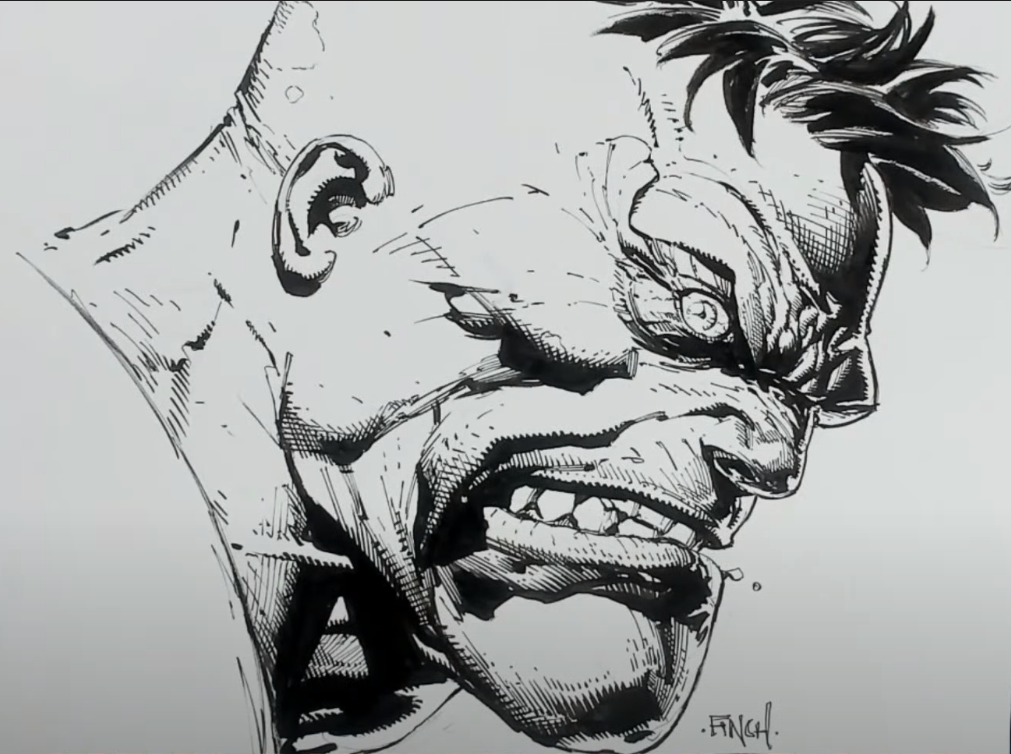 An Original A5 drawing by Richard Friend