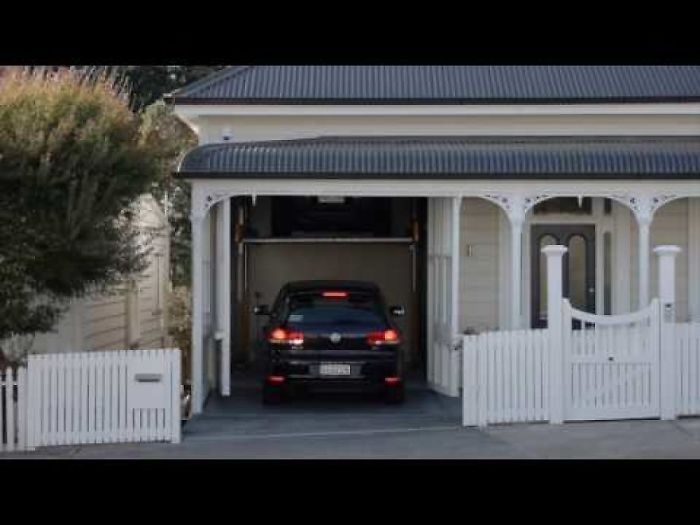 We Spent 4 Years Designing Obtaining Permits And Renovating This Villa Hidden Garage Thunderbirds Are Go Architect Villa Architecture