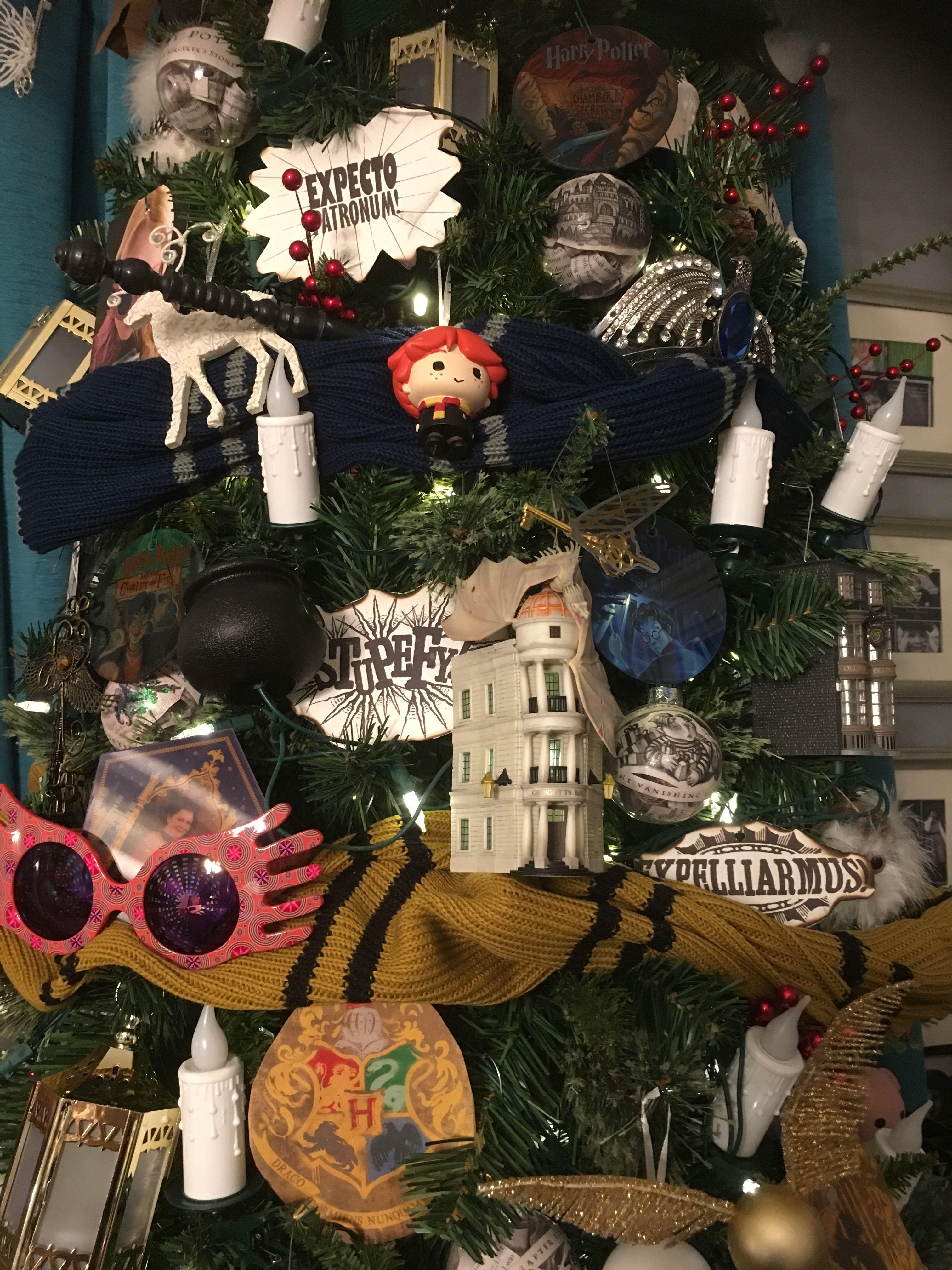 Harry Potter Christmas Tree Harrypottercharacters Brookers In