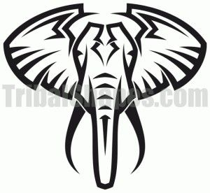 Elephant Tribal Tattoo Elephant Tattoo Tribal Elephant Tattoo Elephant Tattoos