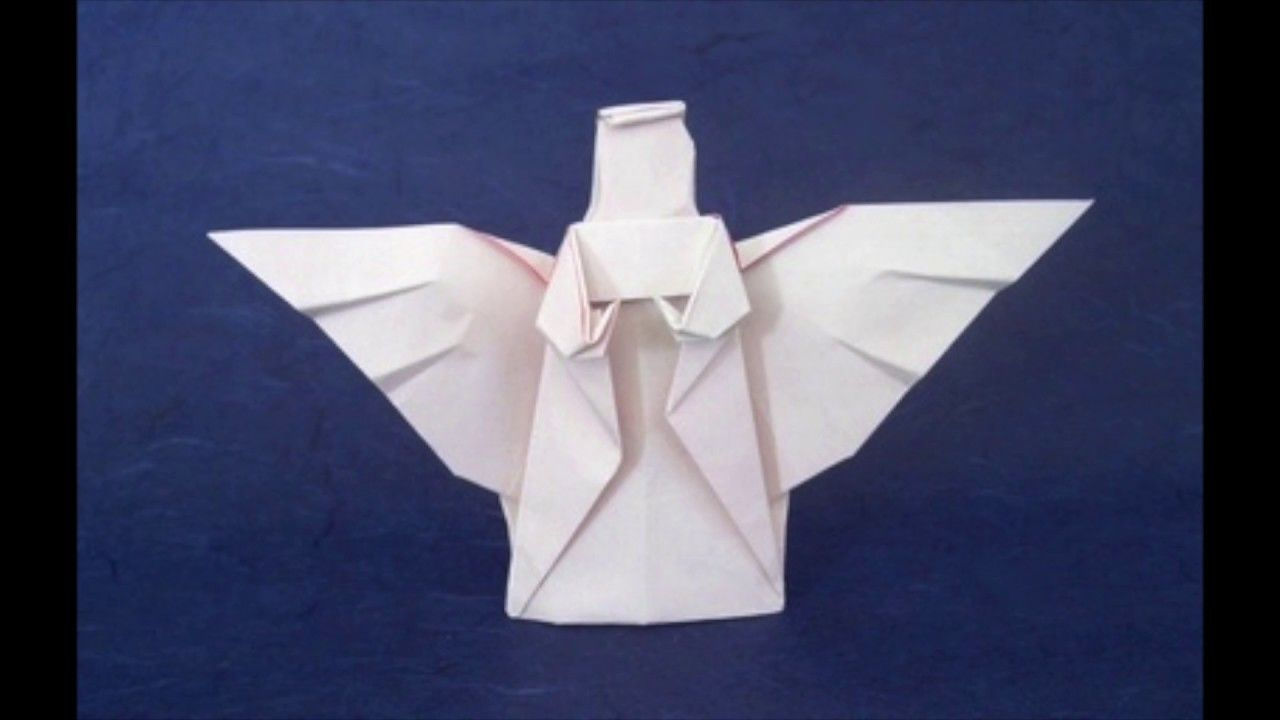 Origami angel praying by niwa taiko folded by gilad aharoni origami angel praying by niwa taiko folded by gilad aharoni origami and paper art pinterest christmas origami origami and angel jeuxipadfo Image collections