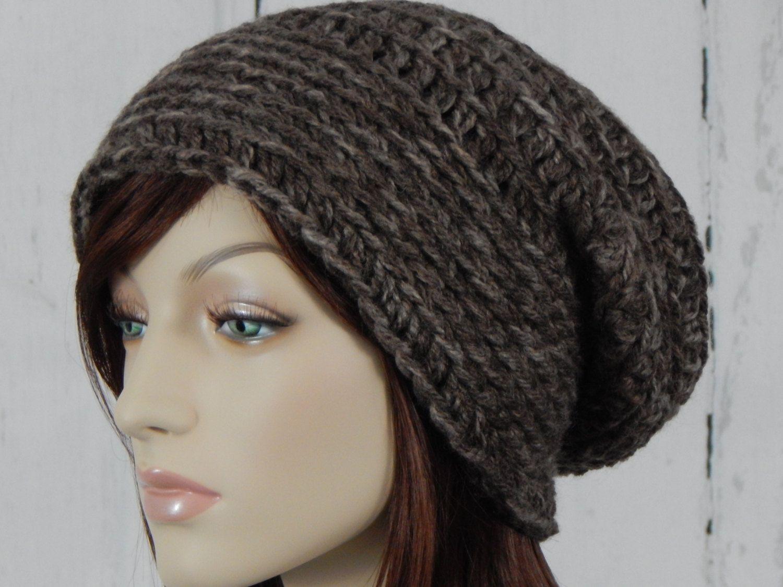 9124318ffbc Wool Blend Brown Tones Slouch Hat