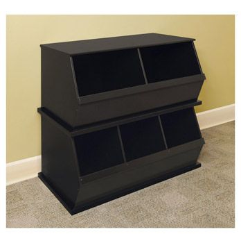 I am going to see if my dad will make this for my little girl, Maya. Such a neat toy box idea.