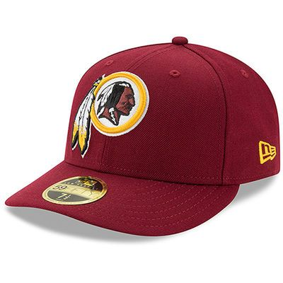 31a1b9b0 Washington Redskins New Era Omaha Low Profile 59FIFTY Structured Hat ...