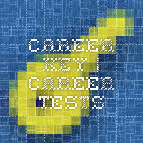 Career Key Career Tests Finding your  - career tests