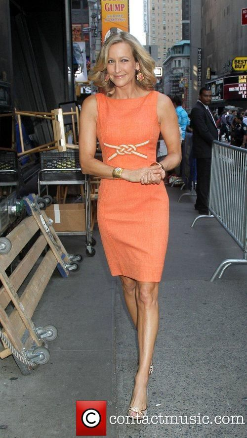 Lara Spencer Wardrobe Asymmetrical Dress