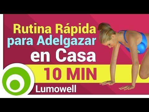 rutina diaria de ejercicios para adelgazar y tonificar