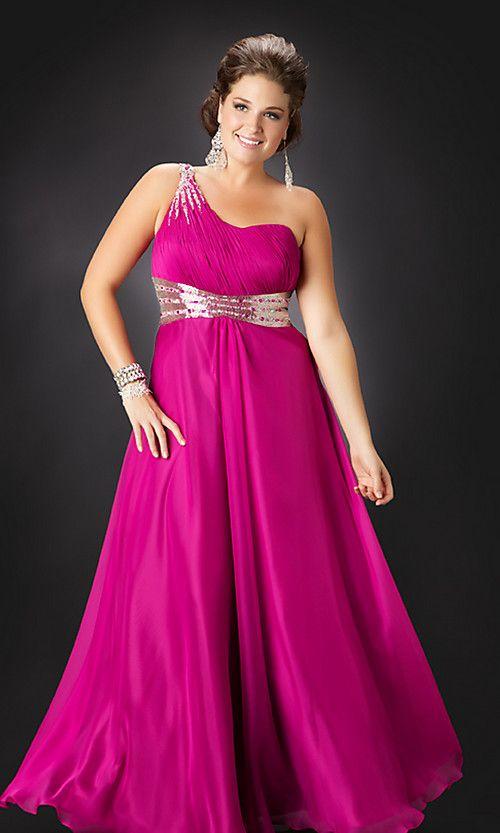 Vestidos de fiesta largos | vestidos | Pinterest | Gordita, Vestido ...