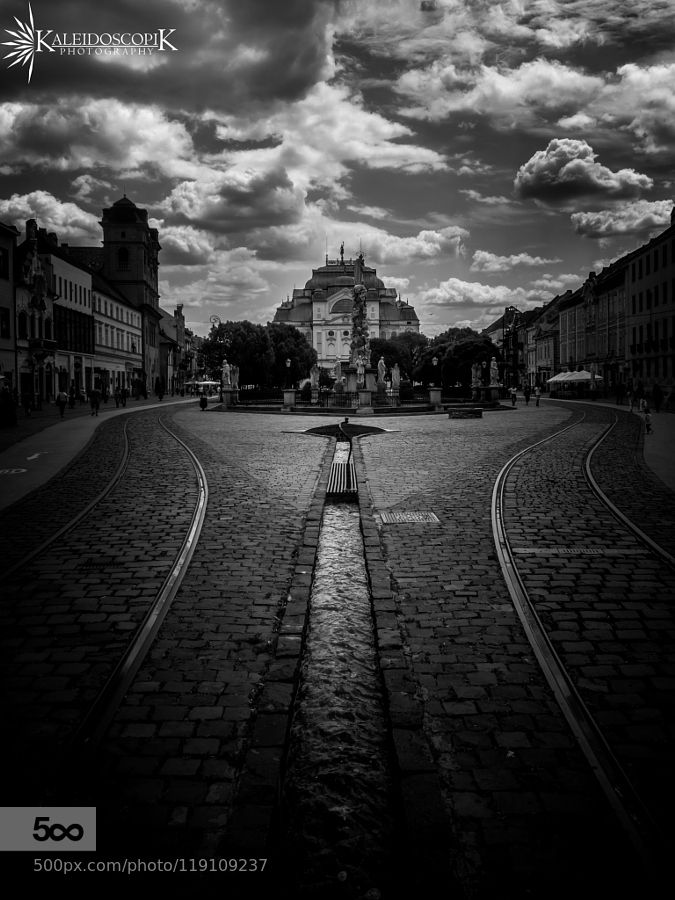 Flowing Street Of Kosice - Pinned by Mak Khalaf This image and others can be seen and bought as fine art prints here: http://ift.tt/1LoUQof The second largest city in Slovakia Kosice (pronounced Ko-sich-eh) is home to 240000 people and lies on the Hornad River near the Hungarian border. It is known these days as the cultural centre of eastern Slovakia and has been named the European Capital of Culture. Slovakia's best kept secret has a vibrant beating heart along its main street. This…