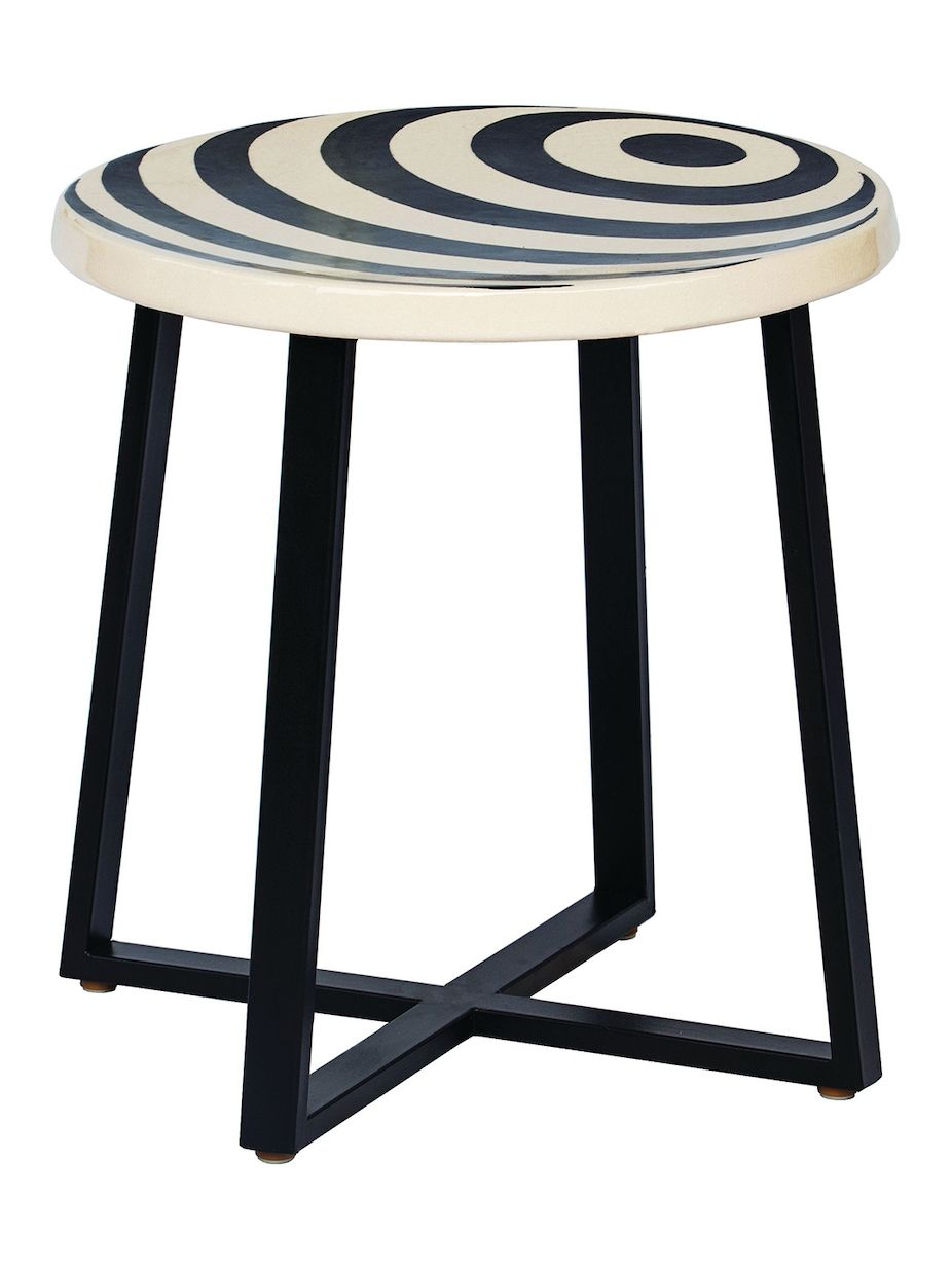 patio accent table on seasonal living ceramic serengeti accent table ceramic furniture patio accent table end tables pinterest