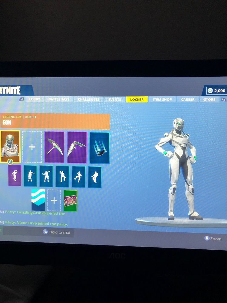 Fortnite Eon Skin Fortnite Launch