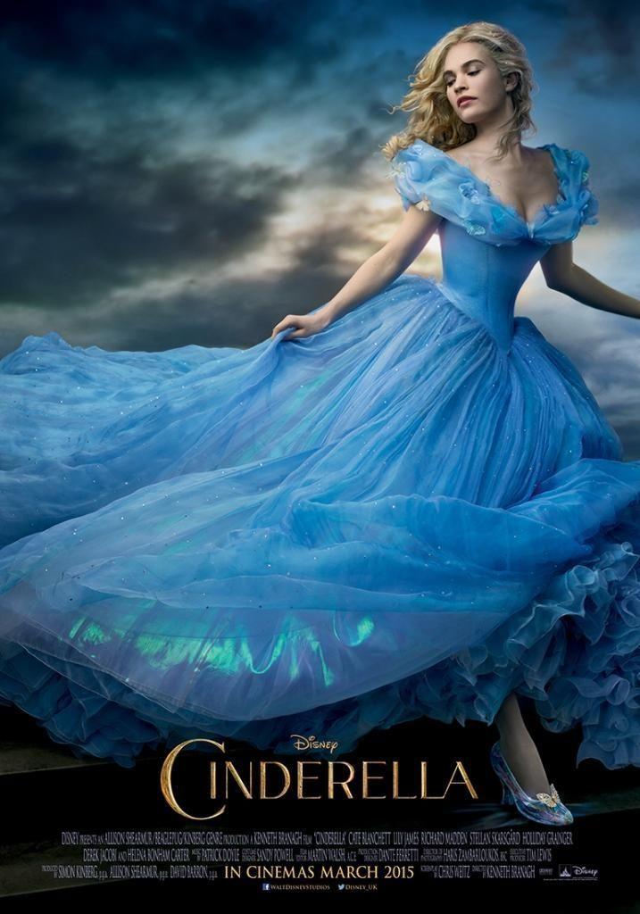 James Stars In The Cinderella 2015 Movie Poster Photo Disney