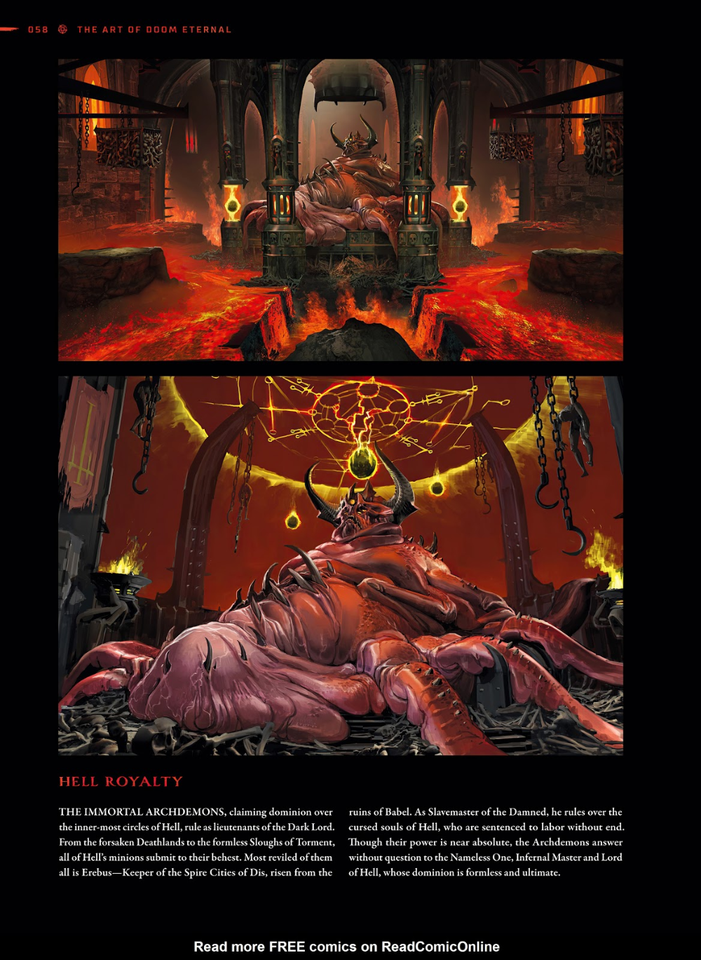 doom eternal concept art book