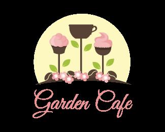Logo Design Garden Cafe Garden Cafe Cafe Logo Design Cafe