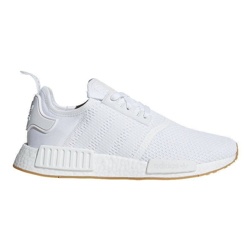 Adidas Unisex Nmd R1 Shoes White Gum Adidas Originals Mens