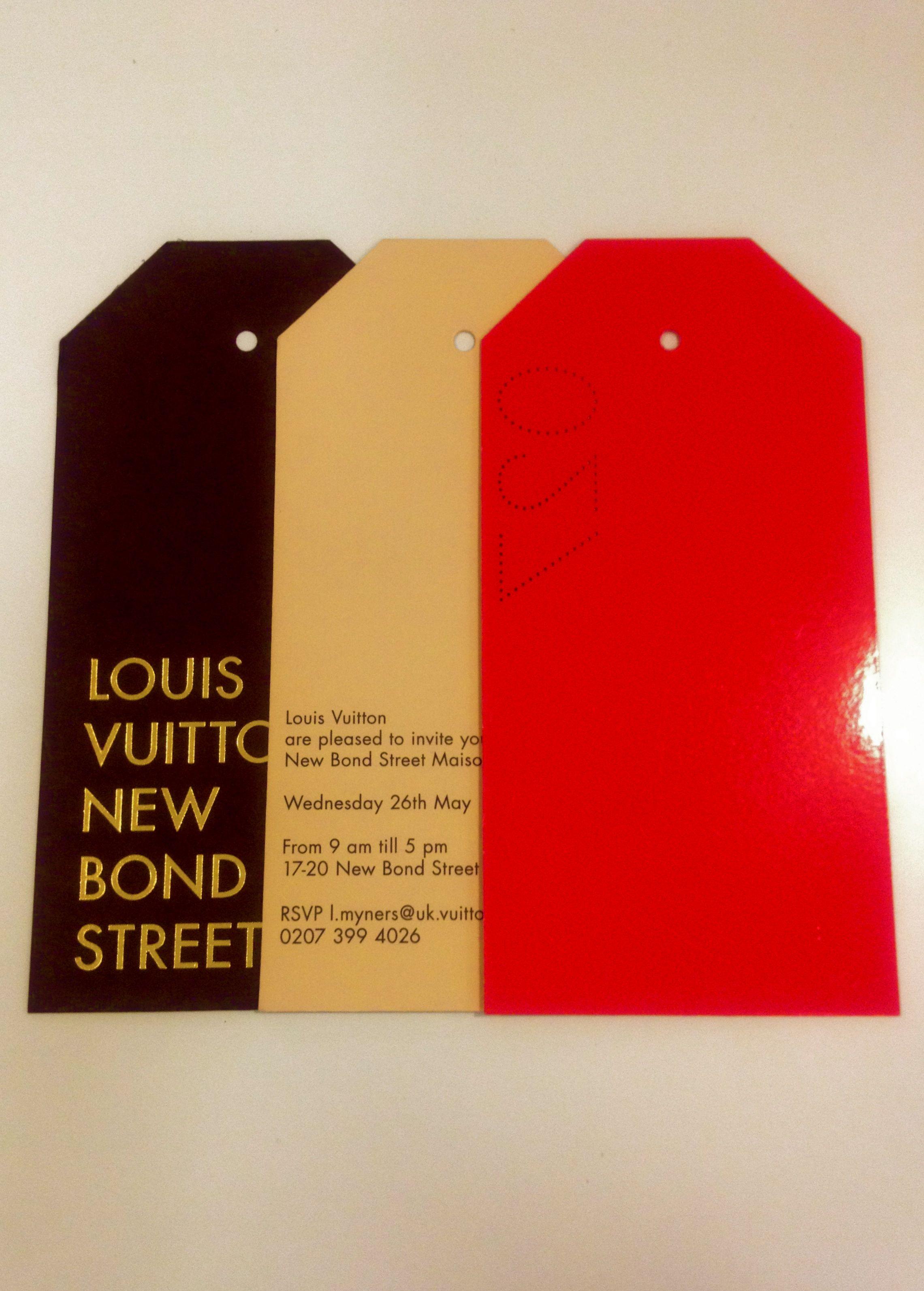 giant swing tags Louis Vuitton invites | Logo & Label (Denim ...