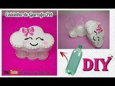 (25) Caixinha de Garrafa Pet em formato de Nuvem - Lembrancinha tema Chuva de amor /Chuva de bênção - DIY - YouTube