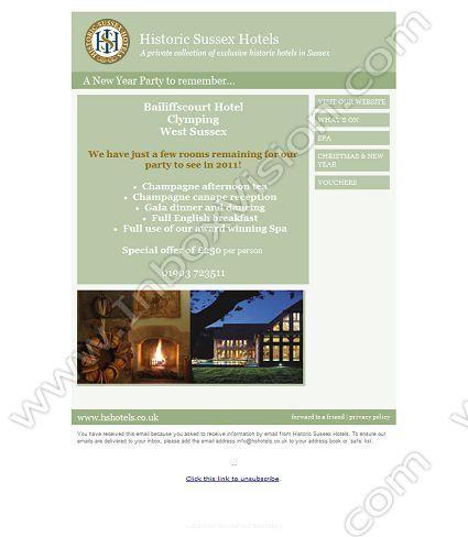 Company Historic Sussex Hotels Ltd Subject Bailiffscourt Hotel