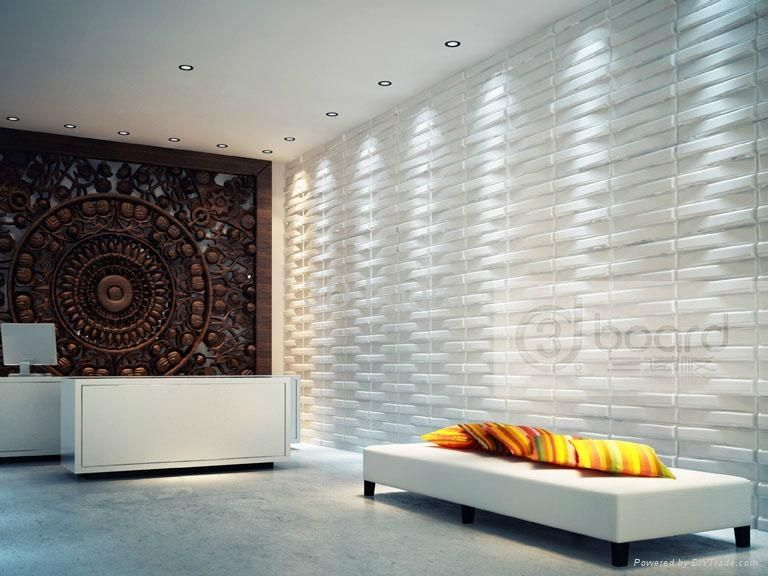 3D Bricks Wall Panels (Pack of 10) (3D Wall Panels - Bricks), Beige