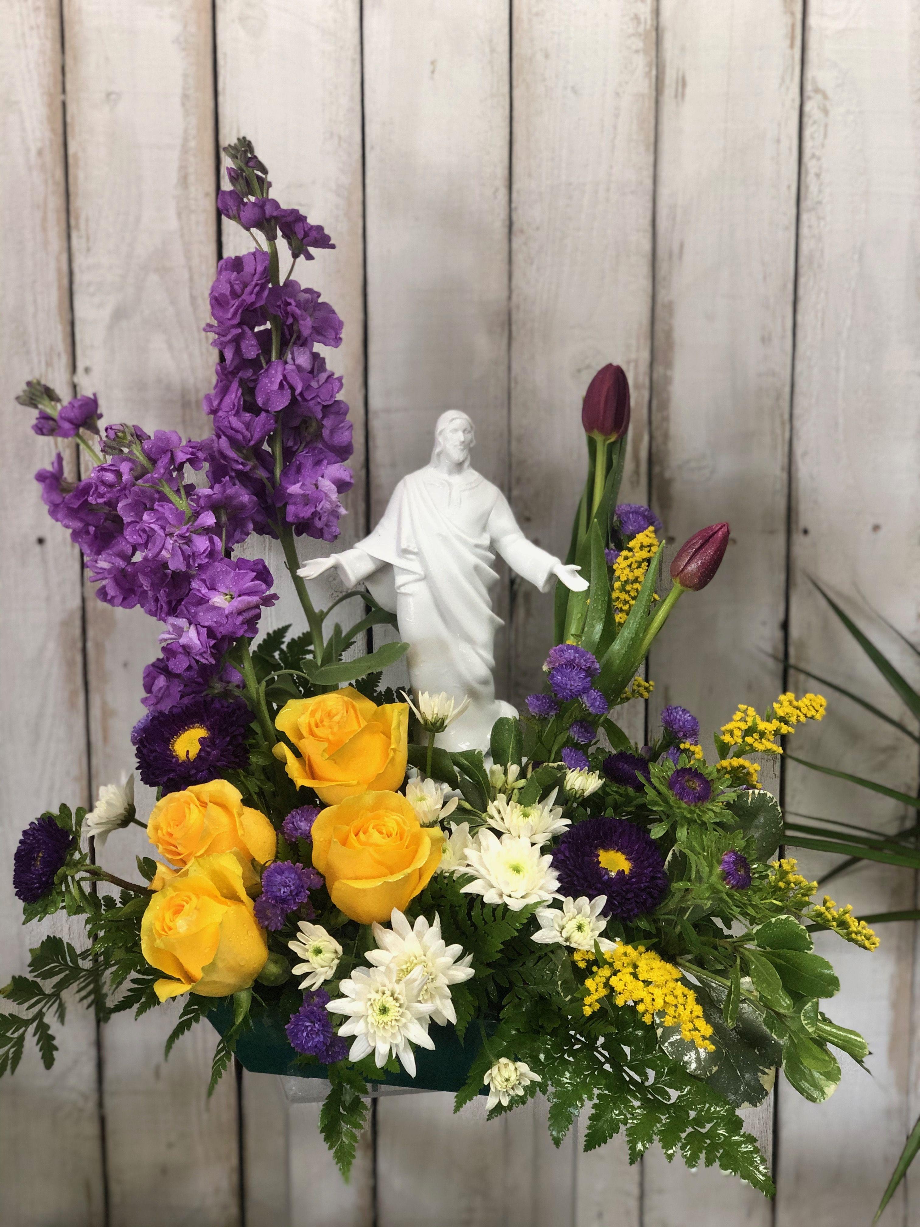 Easter blessings sympathy flowers austin florist