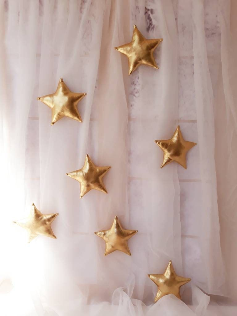 Stars wall hanging,stars decor,stars nursery decoration,wall decor