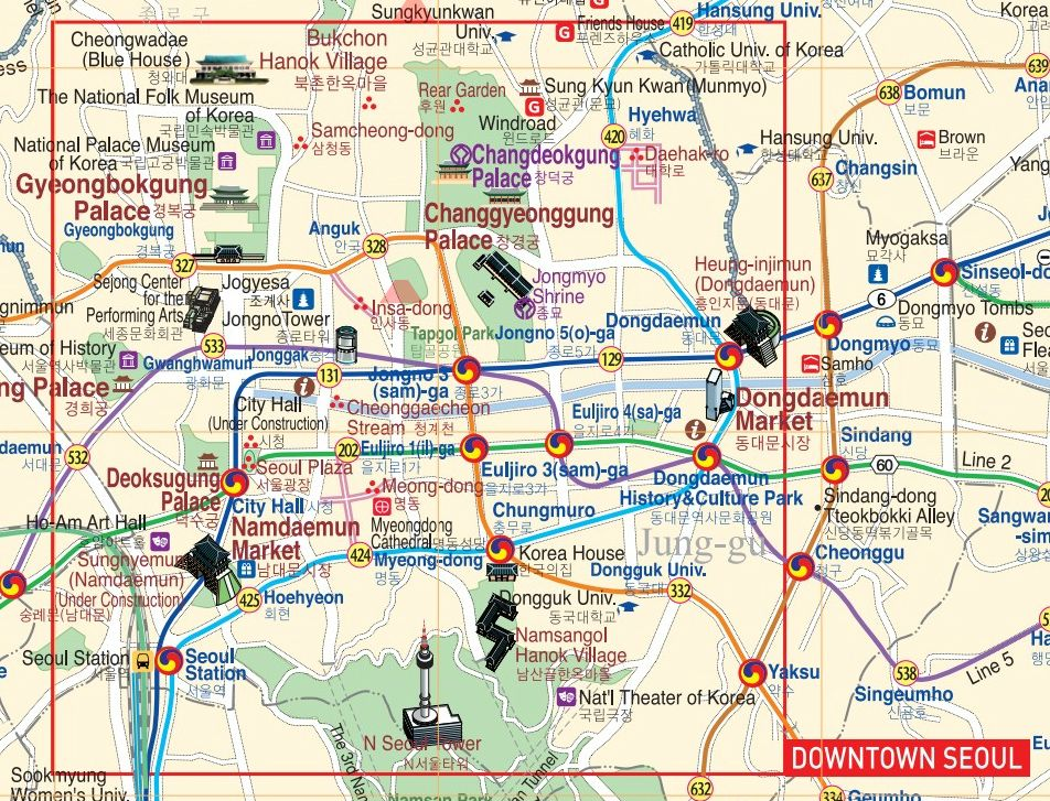 Jornalmaker Wpcontent Uploads 2017 03 Seoultourist: Seoul Map Tourist Attractions At Infoasik.co
