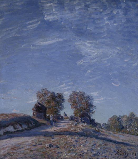 Alfred Sisley - Il sentiero in salita