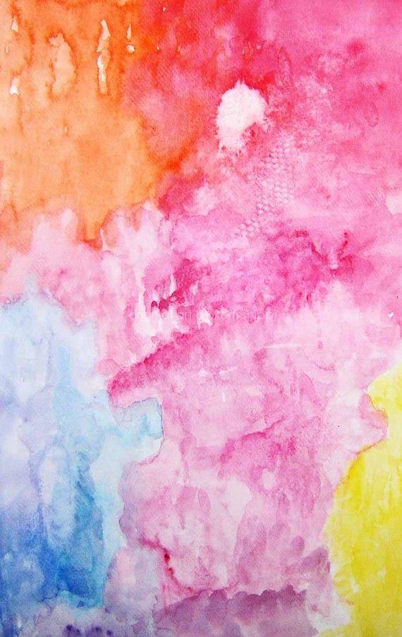 Abstract Watercolor Print Sway 11 x 14