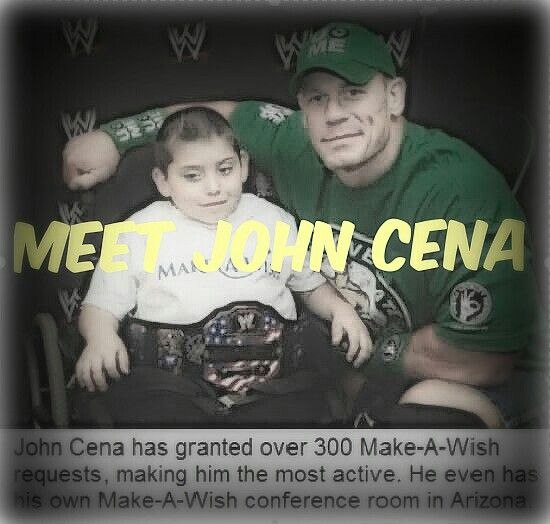 He might be an actor but he makes wishes come true for kids, for this I admire this man :)