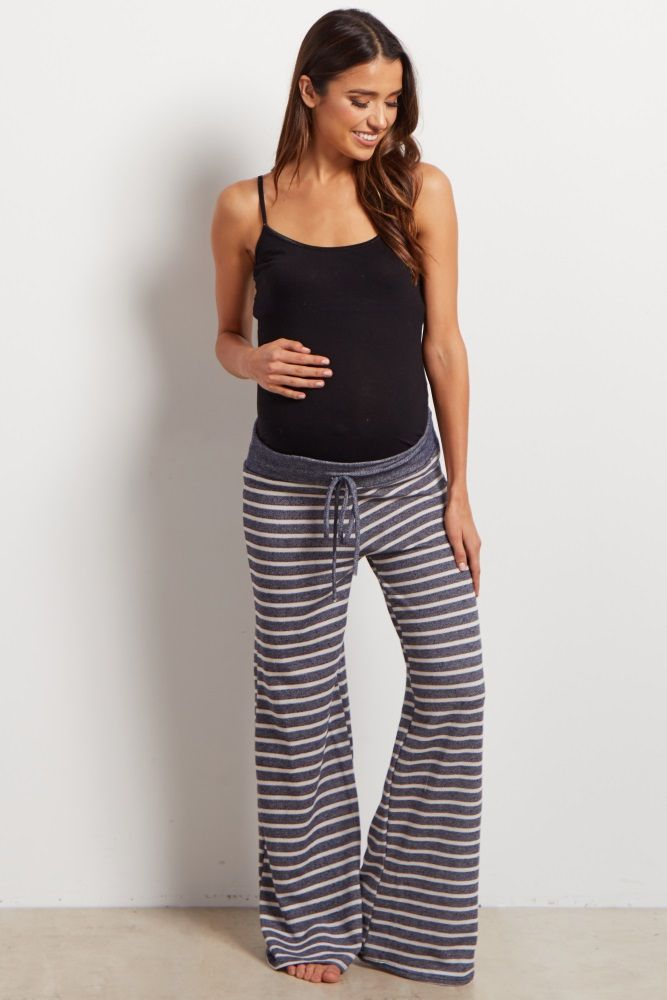 1b0bcc03e38ba Add some fun to your loungewear with these printed pjs. A drawstring  waistband for customized
