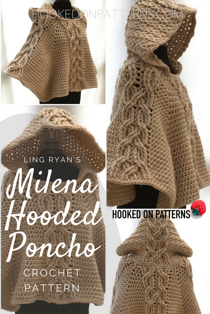 Hooded Poncho Pattern Simple Design Ideas