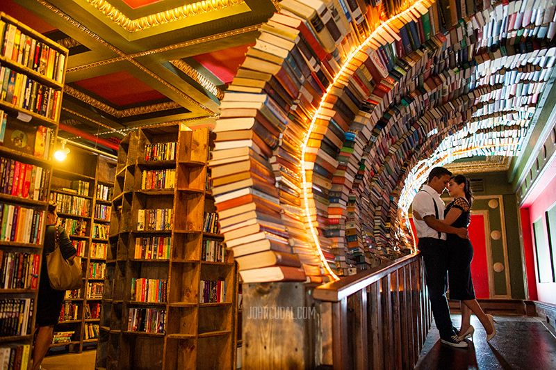 A Reason To Actually Want To Go To La The Last Bookstore The Last Bookstore Road Trip Route Planner Los Angeles Wedding Photographer