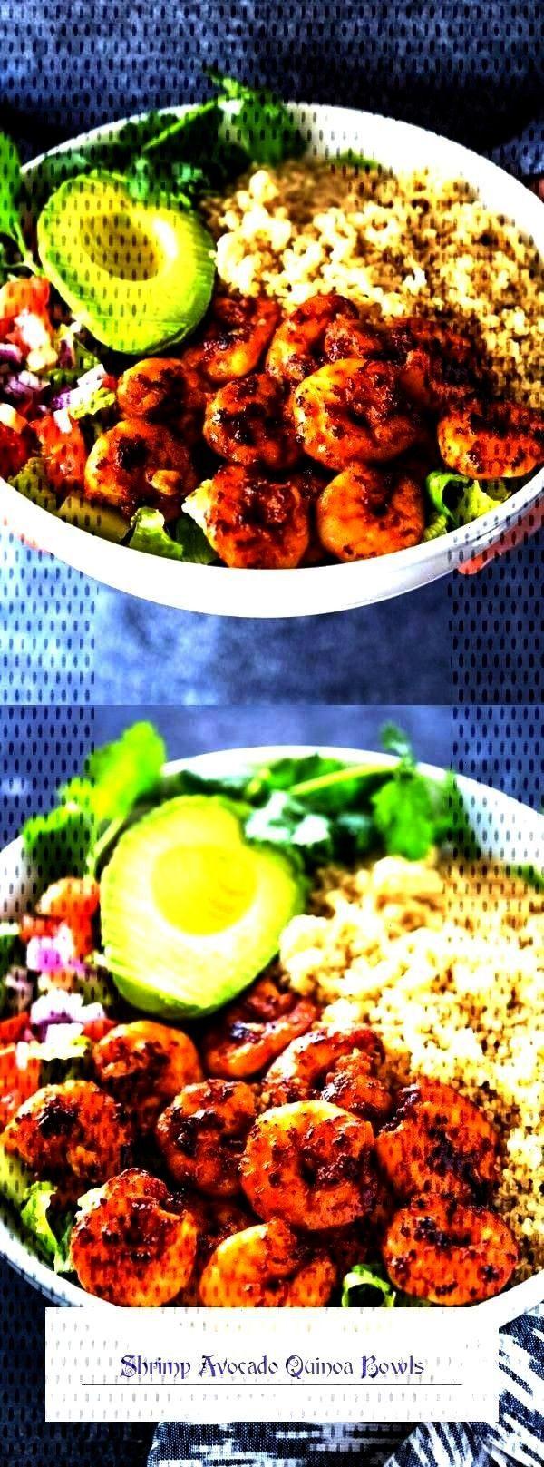 Avocado Quinoa BowlsYou can find B...Shrimp Avocado Quinoa BowlsYou can find B...  This healthy Tri