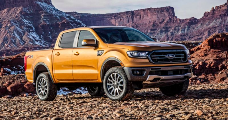The Ford Ranger Is Finally Back With Images 2019 Ford Ranger Ford Ranger 2020 Ford Ranger