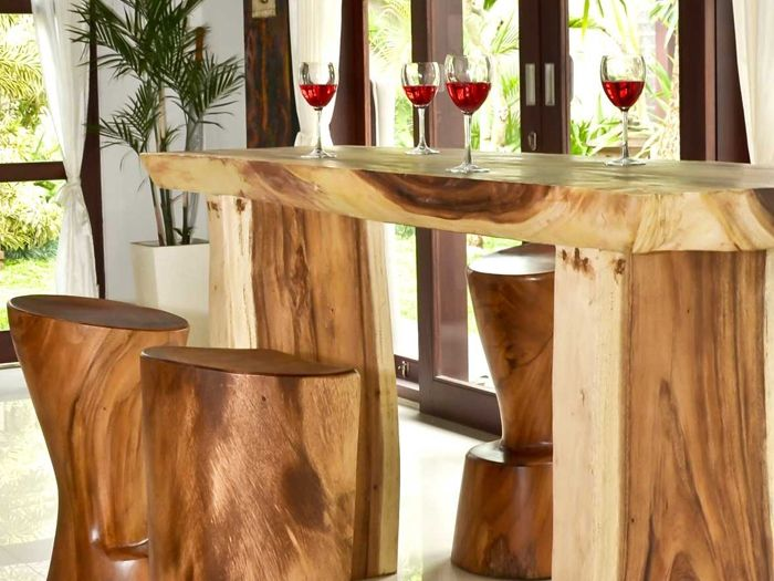 Borneo bar table bartisch